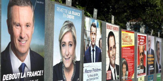 On a regardé quel candidat à la présidentielle a le plus abusé de Photoshop pour son affiche de campagne....