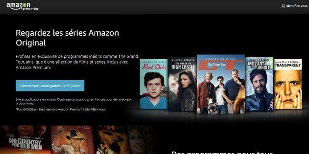 Amazon lance son service de vidéos Prime en