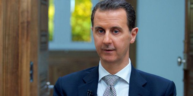 Bachar Al-Assad assure ne plus posséder d'arme