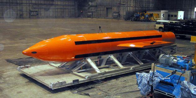 Les États-Unis utilise leur plus puissante bombe non-nucléaire en Afghanistan, une