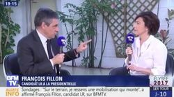 Clash entre Fillon et Bourdin qui s'accusent mutuellement de