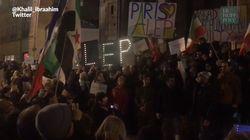 Manifestation de soutien à Alep à Paris: