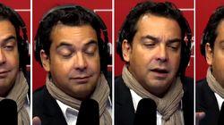 La réaction très parlante de Patrick Cohen quand Manuel Valls lui dit qu'il veut supprimer le
