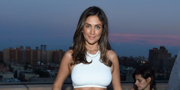 L'actrice Dominique Huett à New York le 20 juin