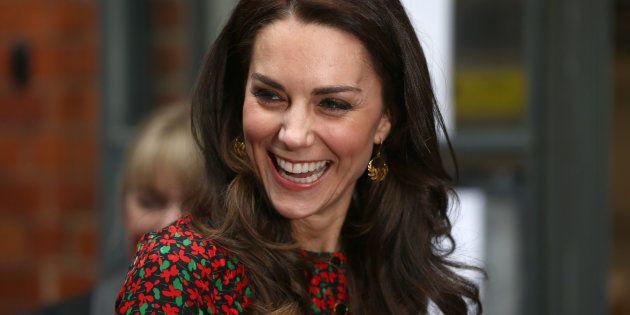 Kate Middleton au Harrow Club de Londres, le 29 décembre