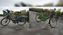 Découvrez le nouveau Vélib', bleu pour l'électrique, vert pour le
