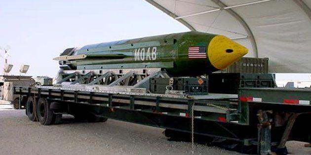 Donald Trump a donné son aval pour que soit larguée la MOAB, une bombe surpuissante, dans un fief de...