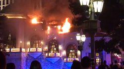 Le célèbre hôtel Bellagio de Las Vegas touché par un