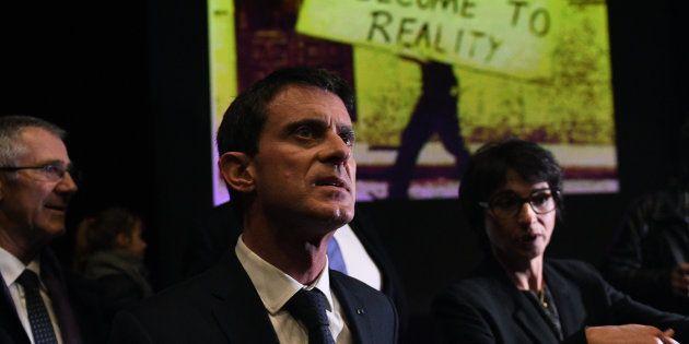 Manuel Valls à La Rochelle le 15 décembre
