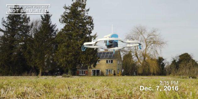 La livraison par drone, ce n'est pas pour tout de