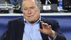 Accusé d'agression sexuelle par une actrice, George H. W. Bush