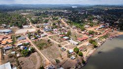 Macron à Maripasoula, plus grande commune de Guyane (et de