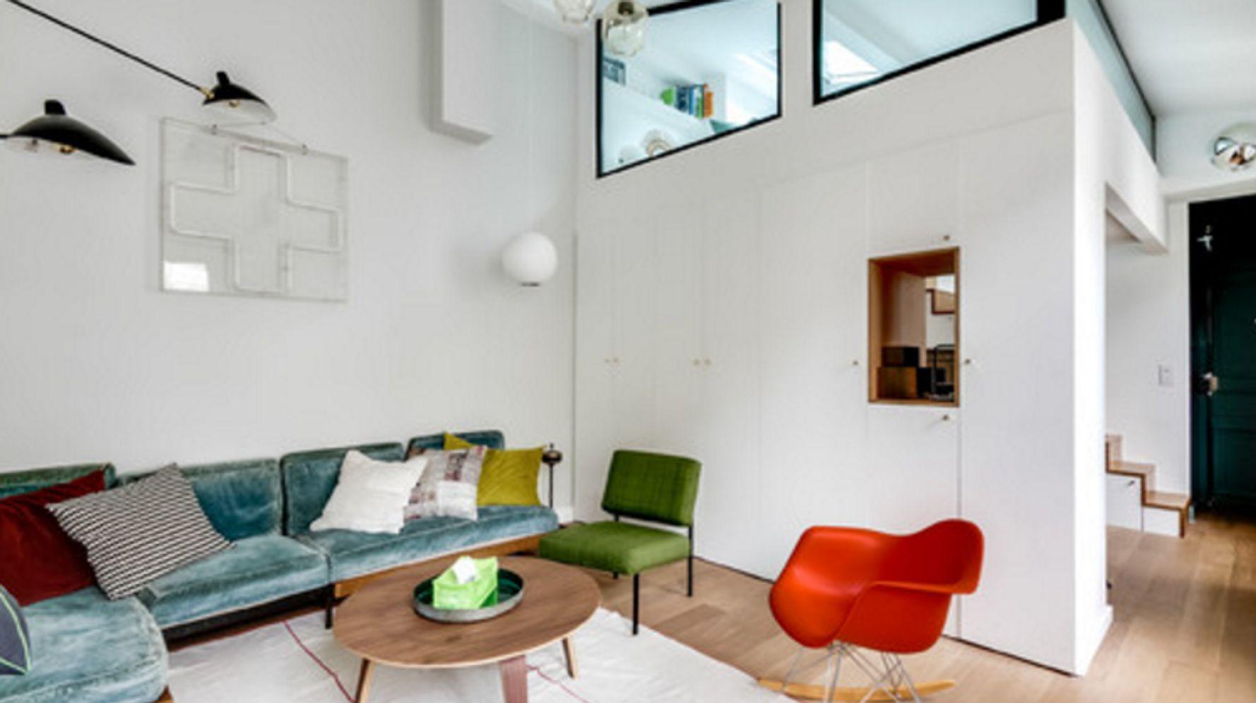 Aménagement Mezzanine Petit Espace cette architecte d'intérieur a métamorphosé cet appartement