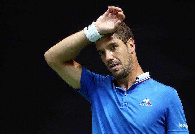 Tennis - Croatia v France - Davis Cup Semi Final - Kresimir Cosic Hall, Zadar, Croatia - 18/9/16 France's...