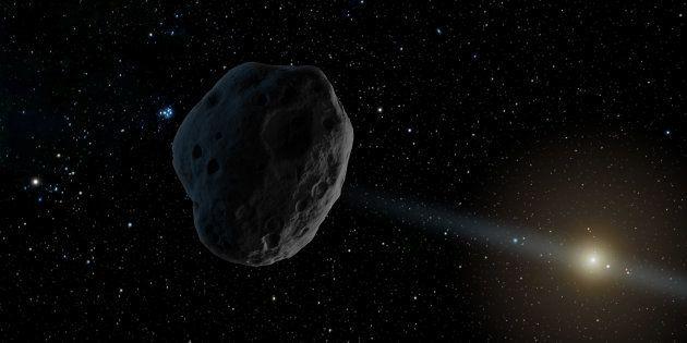 Un astéroïde venu d'un autre système solaire nous aurait rendu visite, du jamais