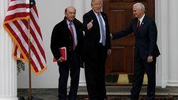 La fortune des 17 membres du cabinet Trump dépasse celle cumulée de 126 millions