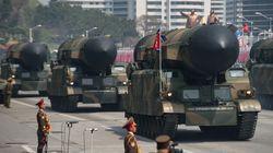 Les images de la démonstration de force de la Corée du Nord en pleines tensions