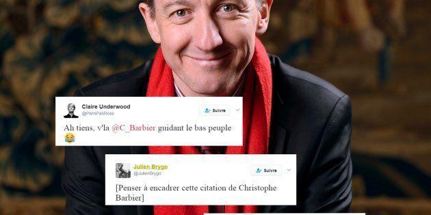 Quand Christophe Barbier écrit un éditorial sur les éditorialistes, la situation devient hors de