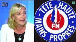 Pourquoi Marine Le Pen a du mal à revendiquer ce vieux slogan du
