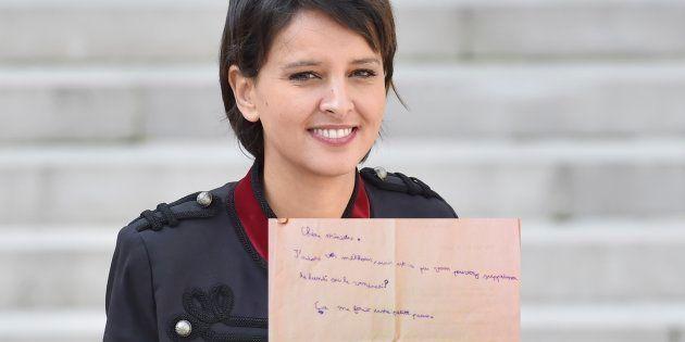 Najat Vallaud-Belkacem a reçu une requête de la part d'un écolier (et on le comprend