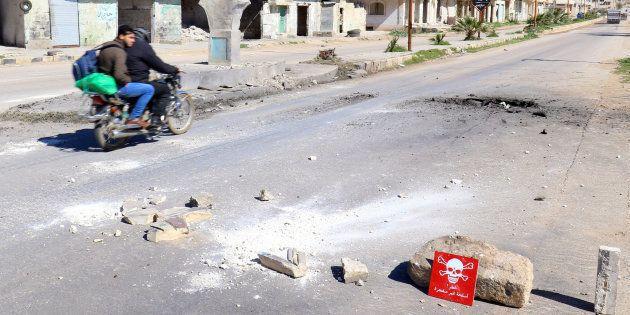 L'attaque au gaz sarin en Syrie, en avril, perpétrée par le régime d'Assad selon
