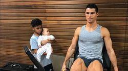 Il a trouvé la légende parfaite pour cette photo de Ronaldo et ses