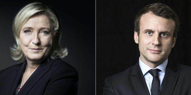Marine Le Pen et Emmanuel Macron joue gros pendant cette dernière