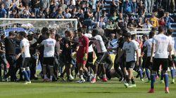 Les joueurs de Lyon agressés par des supporters bastiais sur le