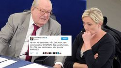 Jean-Marie Le Pen officialise son soutien à sa fille