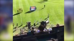 Le bon esprit de Furiani qui applaudit les Lyonnais et siffle ses supporters