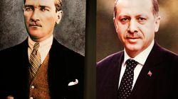 Erdogan se rêve en Atatürk, icône intouchable en Turquie et symbole... de ses