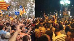 Catalogne indépendante: à Barcelone, des scènes de joie dignes d'une victoire en Ligue des