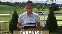 Cette golfeuse privée de son titre de championne parce qu'elle est une