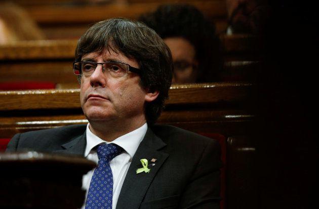 Le président catalan Carles