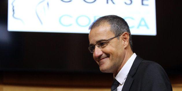 Jean-Guy Talamoni, président de l'Assemblée de Corse,
