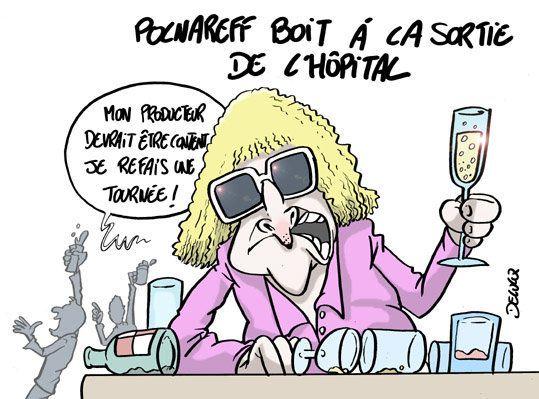 Michel Polnareff trinque à sa propre