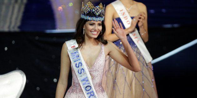 Miss Puerto Rico, Stephanie del Valle, a été élue Miss Monde 2016 à Oxon Hill, près de