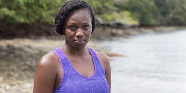 Maryse, 31 ans, est la personne en charge des soins dans le groupe mixte de
