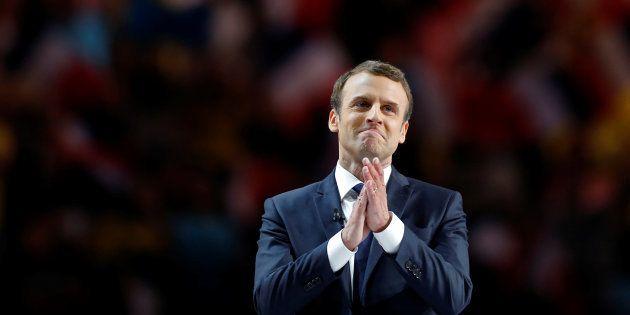 Avec Emmanuel Macron, une large mobilisation en faveur du partage de la culture. REUTERS/Benoit