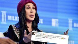 Cher n'a vraiment (vraiment) pas envie que Marine Le Pen devienne
