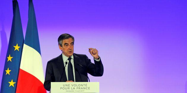 François Fillon à Montpellier le 14 avril