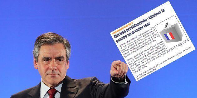 Le parti d'extrême droite MNR appelle à voter Fillon (mais ce n'est pas contre Le
