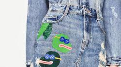 Zara accusé d'avoir utilisé une grenouille ressemblant à un symbole