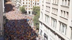 Une foule impressionnante dans les rues de Barcelone pour défendre l'unité de