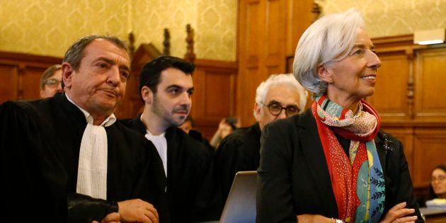 Christine Lagarde a été reconnue coupable mais dispensée de