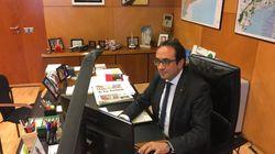 Des dirigeants catalans destitués publient des photos depuis les bureaux qu'ils n'ont plus le droit