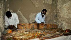 Huit nouvelles momies découvertes en Egypte et ce n'est peut-être