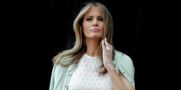 Melania Trump, la lente mais laborieuse approriation du rôle