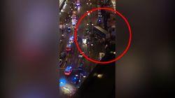Les images du camion qui a foncé dans la foule à