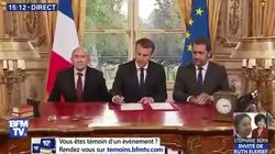 Avec la loi antiterroriste, Macron s'est encore mis en scène à